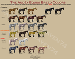 The Audax Equus-Coat Colors by patchesofheaven74