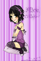 Twilight :: Alice - Purple by sasukee23loveeer