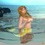 Mer-pinup - Thalassa by Chronophontes