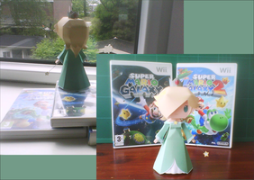 Paper Rosalina Template by MountainOfCookies