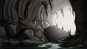 160 - Dark Cave by Shasel