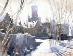 Winter fortifications by GreeGW