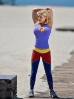 Super-Carrie at the beach 59324 by doccanarx