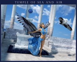 Temple of Sea and Air by kobaltkween