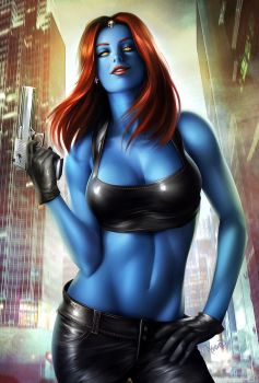 Mystique by megurobonin