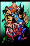 Heroes By Ed Benes Colors done by Chiko666