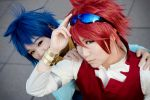 Gundam Build Fighters - 01 by kitsunesqueak