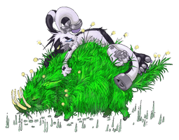 Grass Pig by OnionKnight