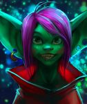 Goblin through galaxy by Htg17