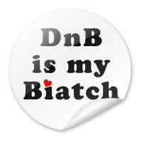 DnB is my sticker by YannisZA