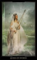 Queen of Swords by ThelemaDreamsArt