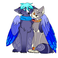 You look like you could really use a hug friend. by Etheral-Fox