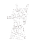 RMS-106 Hizack Sketch by DaiGuard78