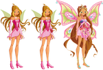 Flora's Fariy Evolution by ColorfullWinx