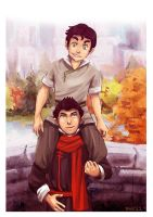The best of brothers by SkiM-ART