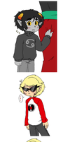 Homestuck - DavKat thanks for noticing by Cloud-Kitsune
