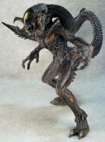 Alien Hybrid Figure by mangrasshopper