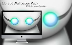 Wallpaper Pack: Ubi Bot by spendavis