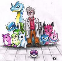 Beta Pokemon by hamsterSKULL