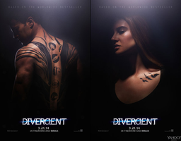 New Divergent Movie Poster by Alfred-Martini-Pines