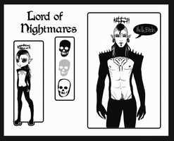 Lord of Nightmares by NoireBlanc