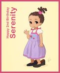 Happy 2nd Birthday Serenity by Louistrations