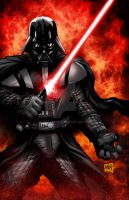 Darth Vader Colors by hanzozuken