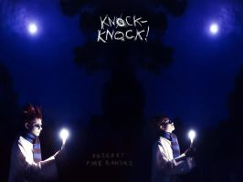 Knock knock -  Night by Shel-lD