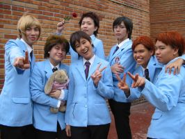 ouran high school host club by Utentsu