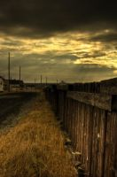 HDR Sun Through The Clouds by Witch-Dr-Tim