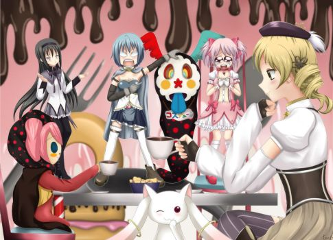 It is all Kyubey's conspiracy by ckinadg
