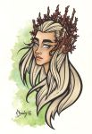 Thranduil by BlueUndine