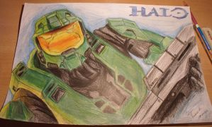 Master Chief - HALO by CATPT93