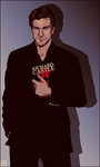 Richard Castle - Back to the start by InvisibleRainArt