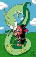 serperior and saya by xxyuikoxxyamazakixx