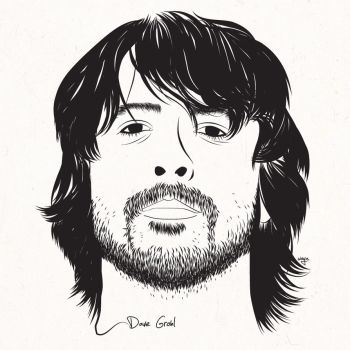 Dave Grohl by brokensuicide