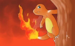 Charmander by Near--Near