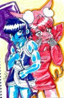 blue and red by gallymedes28