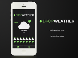 Drop Weather mobile concept by lpzdesign