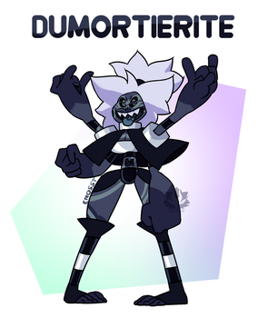 [Collab] - Dumortierite by FloofHips