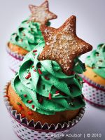 Xmas Tree Faux Cupcake 02 by CreativeAbubot