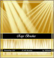 Rays brushes for photoshop by analeewon