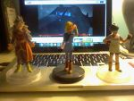DBZ Collection Android 18, Videl, West Supreme Kai by gamemaster8910
