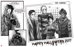 Happy Halloween 2011 by TyrineCarver
