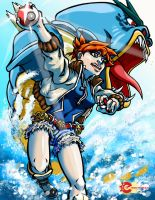Misty Gyrados Colored 2 by The-Internationalist