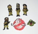 Ghostbusters charms set by Lovelyruthie