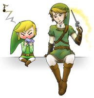Link and Link Play Music by Kevichan