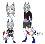 SoG: #007 - Lycandra Stevens (TEMP REF) by Inklash