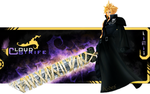 Cloud Strife Signature by RenlarZ