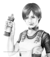 Tribute to Rebecca Chambers from 2008 by Naoanastas